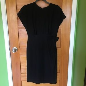 Vintage Dana Jeffries shift dress with bow